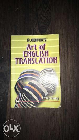 Art Of English Translation By R. Gupta Book