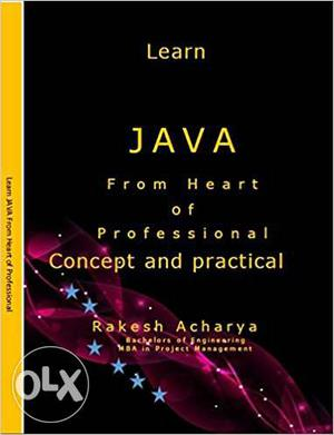 JAVA Book Learn JAVA From Heart of Professional