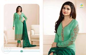 Ladies dress fabric gorget Ineer bottom SANTOON