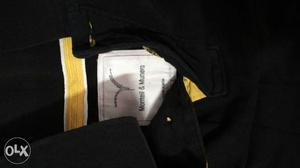 Monteil and Munero black and yellow un used size M