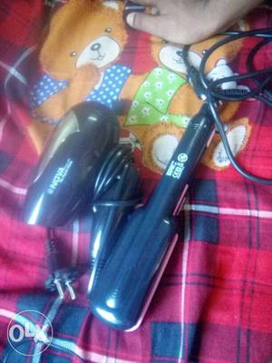 Nova best hair dryer with hair straightener.