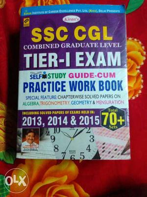 SSC CGL tier 1 practice work book 70+ sets..