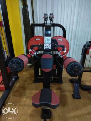 Shoulder press machine n side raise machine in