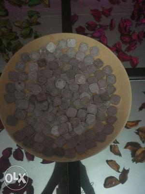 169 Coins Of 5 Paise Of  At Rupees  Only