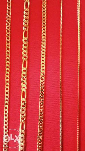 22 carat Gold Plated chain. Call Me Eight Nine