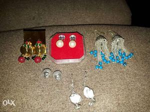 Beautiful pairs of ear rings...combo set..