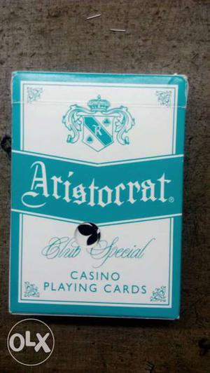 Casino playing cards 1pis nos