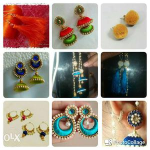 Designer Ear Rings for all occasions. Ranging