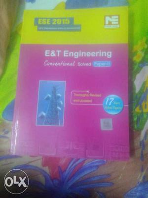 ESE  conventional papers book 1 and 2