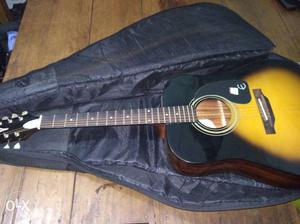 Epiphone pure acoustic guitar. 6 month old.