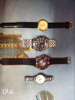 Five watches for sale all in good working