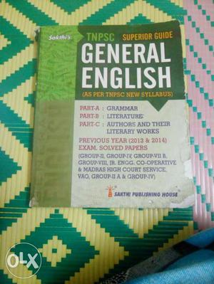 Good book for tnpsc exam used one