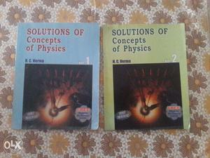 HC Verma (Vol. 1 and 2) Solutions