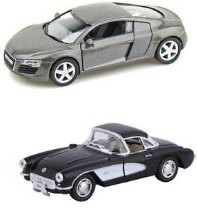Kinsmart Audi R Chevrolet Corvette Diecast Metal Car