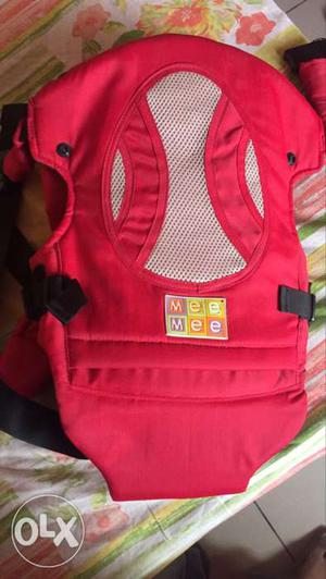 Mee Mee red colour Baby Carrier
