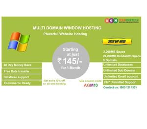 Multi Domain Hosting – AGM Web Hosting Patna