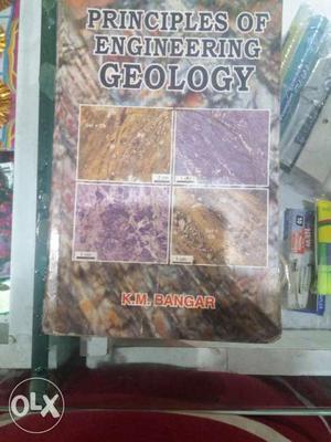 Principles Of Engineering Geology Book