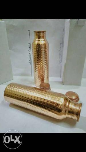 Say no to plastic use Copper bottle to live