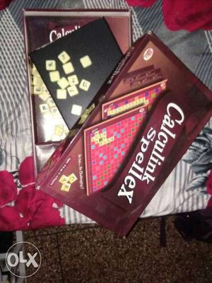 Scrabble Board Game Set