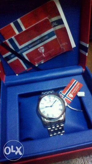 This is a brand new watch of Herman Hansen. It is