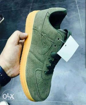 We ship all over india Nike Green Low-top Sneaker