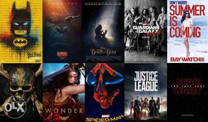 Rs90 for 3 movies, all Hollywood & bollywood