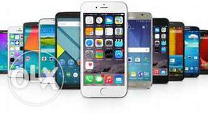 I want all type damage mobile phones at any