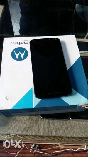 Moto X style 16gb 3gb 3 month old all acc brand