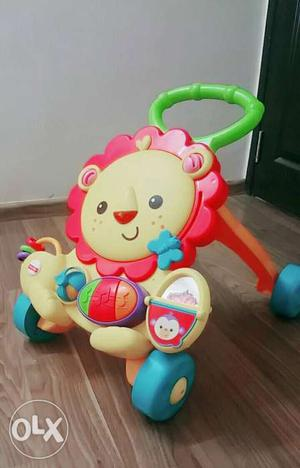 The Fisher Price Lion Musical Walker Age - 6 to