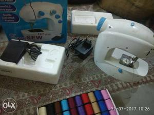 Urgent sale of electric sewing machine with all