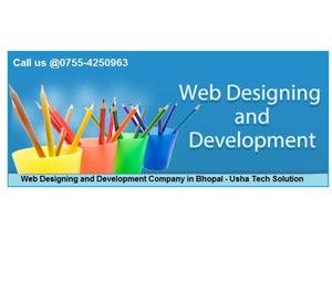 Website Designing and Development. Bhopal