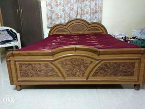 6' X 5' double bed for sale without mattress