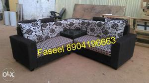 BD1 corner design sofa set latest design seat fixed back