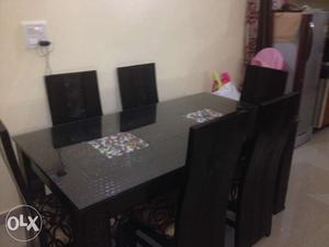 Brand New Dining Table Set Just 1 Year Old