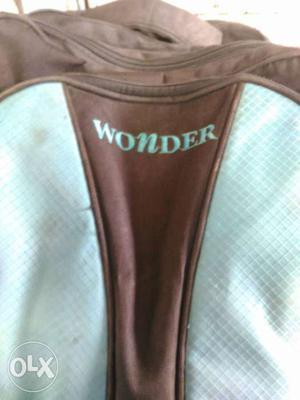 Black And Teal Wonder Bag