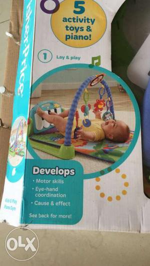 Fisher price for new born play gym