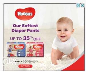 Home delivery of baby diapers at 10 to 15 percent