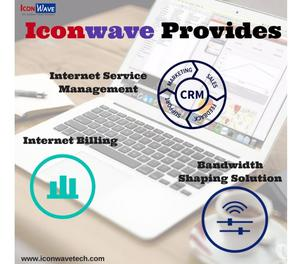 Iconwave offers ISP bandwidth management software,CRM
