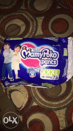 Mamy Poko pants size 3XL. 2 pcs used