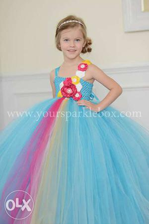 Tutu party frocks for kids from new born till 10