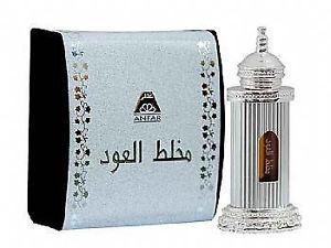 Al Anfar Mukhallat Al Oudh Zhahabi Silver Oil Perfume /