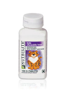 Amway Nutrilite Kids Chewable Iron (100N Tablets)