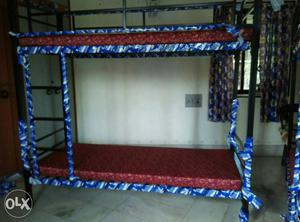 B new iron Bunk Beds with mattress factory outlet