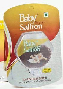 Original Baby Brand Saffron (kesar) 1grm