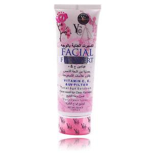 YC Facial Fit Expert Vitamin C E & UV Filter Total Age