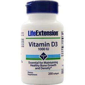Life Extension Vitamin DIU) 250 sgels