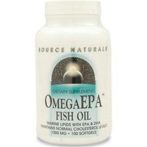 Source Naturals Omega EPA Fish Oil 100 sgels