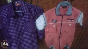 3 to 5 years boy 2 shirts in just 700 excellent condition