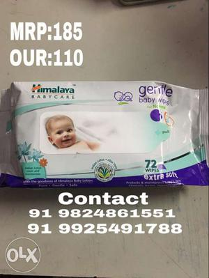 Himalaya Babycare Gentle Baby Wipes Pack