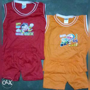 Kids Wear knitted quality (Top & Bottom) RS 50.ManyColors
